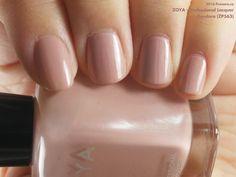 Zoya Professional Lacquer in Pandora (swatch by fivezero.ca) [beige, tan]
