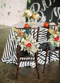 Striped South Carolina Wedding « Southern Weddings Magazine