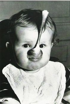 Silver spoon in mouth   Tender Years   Toddler life