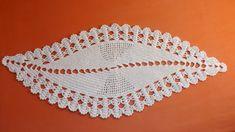 Ripple Rainforest Scarf pattern by Ellie from Hook Yarn Car Crochet Doily Patterns, Thread Crochet, Filet Crochet, Crochet Motif, Irish Crochet, Crochet Doilies, Crochet Flowers, Knitting Patterns, Crochet Table Runner
