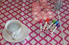 Little Girl Birthday Party Idea Tea Party with Stations Little Girl Birthday, Little Girls, Royal Tea Parties, Tea Party Birthday, Keep It Simple, Having A Blast, Tableware, Fun, Party Ideas
