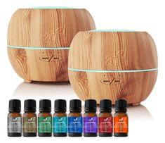 artnaturals Promo Standard Diffuser with Top 8 Blend Oils Set
