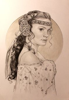 Queen Amidala, Natalie Portman, pencil on paper, inches Queen Amidala, Natalie Portman, Star Wars Art, In This World, Pencil, Princess Zelda, Fan Art, Stars, Paper