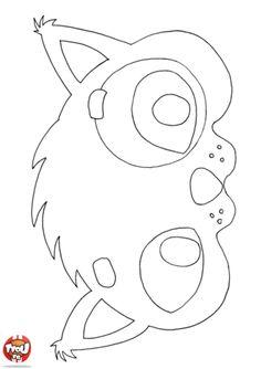 Qu'il est beau ce masque de chat ! Prends tes crayons de couleurs et colorie le masque de chat pour créer ton déguisement pour Mardi Gras. C'est gratuit sur TFou !