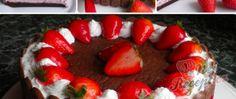 Recept Šlehačkový dort bez mouky Sushi, Ethnic Recipes, Cheesecake, Food, Mascarpone, Pineapple, Cheesecakes, Essen, Meals