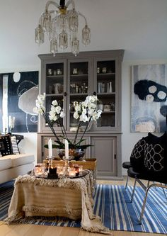 home of Malene Birger love the moroccan wedding blanket. Decorating Your Home, Interior Decorating, Interior Design, Moroccan Wedding Blanket, Lounge, Malene Birger, Interior Exterior, Scandinavian Interior, Inspired Homes