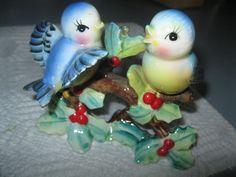 Vintage Norcrest Bluebirds