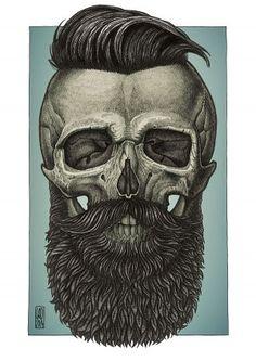 Bearded by Vadim Zhulanov Ramones 0de7da641fe