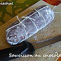 Saucisson au chocolat Gourmet Gifts, Tiny Gifts, Diy Room Decor, Recipes