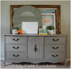 French Media Center - Lily Field Co. Home Deco Furniture, Media Furniture, Paint Furniture, Furniture Making, Cool Furniture, Salvaged Furniture, Furniture Refinishing, Dining Room Inspiration, Furniture Inspiration