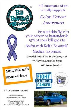 Flyer for cupid for a cause charity auction sponsored american join us this saturday february 15th 5pm to close to proudly support colon cancer awareness toneelgroepblik Choice Image
