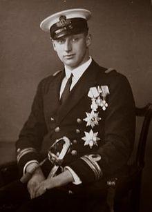 Knud, Hereditary Prince of Denmark (1900 - 1976). Son of Christian X and Alexandrine of Mecklenburg-Schwerin.  He married Caroline-Mathilde of Denmark and had three children.