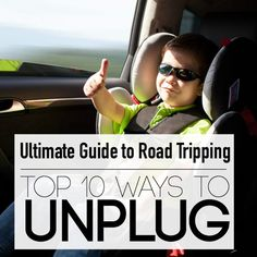 Top 10 Tips to Getting Kids to Unplug on Road Trips Traveling with Kids, Traveling tips, Traveling #Travel