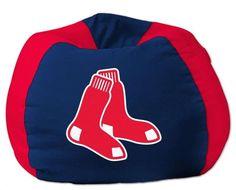 The Northwest Boston Red Sox MLB Bean Bag Chair $59.99 from bedding.com #boston #mlb #redsox