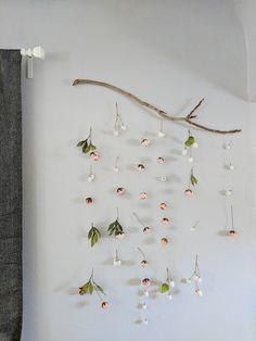 I create custom boho floating floral mobiles for the client depending on the colors and style they want. I get an idea of what you are using it for (wedding, house decor, shower, party, etc.) and what color scheme would work best for you. I collect the branches and purchase fake flowers, so that the