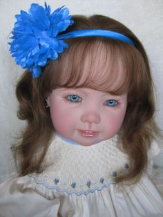 New Release Toddler Madeleine by Petra Seiffert- Rooted Human Hair - What a doll