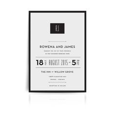 Muse Wedding Invitation #weddings # invitations