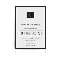 Muse Wedding Invitation #weddings # invitations