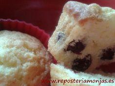 Muffins de arándanos rojos