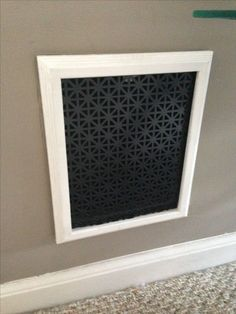 custom grill covers air registers vent covers grill installation air registers how to. Black Bedroom Furniture Sets. Home Design Ideas