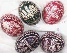 Handcraft Blog: Decorated eggs