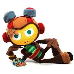 OFFICIAL Psychonauts Raz Plush >>> To view further for this item, visit the image link. (This is an affiliate link) #PlushFigures