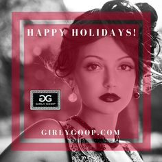 Happy Holidays!! <3 #GIRLYGOOP Beyond Beauty, Project Yourself, Your Skin, Happy Holidays, Girly, Lady Like, Girly Girl