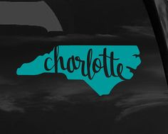 Thanks Kendra From North Carolina Decals And Stickers - Custom vinyl stickers charlotte nc