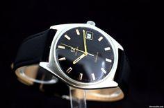 Omega Geneve Handaufzug Black Dial cal.613 Ref:135.041