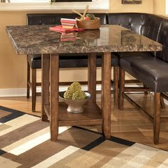 Lacey Square Counter Height Table by Signature Design by Ashley