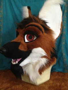 Found on Google: Fursuit wolf