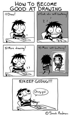 Anybody who's familiar with the comics of Sarah Andersen will know how perfectly they summarize the daily struggles of modern life, especially when it comes to Sarah Anderson Comics, Sara Anderson, Art Memes, Cute Comics, Funny Comics, Saras Scribbles, Sarah See Andersen, Funny Cartoons, Funny Memes