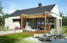 Wooden Pergola Patio Videos - - Pergola Attached To House Decks Porch Ideas - Easy Pergola Ideas DIY - Pergola Patio Videos Furniture Diy Pergola, Pergola Canopy, Deck With Pergola, Wooden Pergola, Outdoor Pergola, Patio Roof, Backyard Patio, Backyard Landscaping, Pergola Ideas