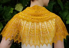 "Love this pattern called ""Good Day Sunshine"" from the most recent Knitty!"