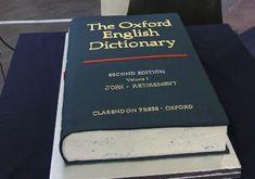 Oxford English Dictionary Cake