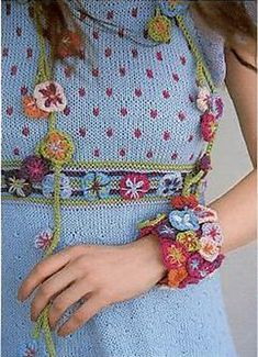 la robe, le collier, le bracelet... ♥ Ravelry: Sommerdesign pattern by Sidsel J. Høivik