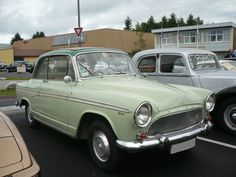 SIMCA Aronde P60 Monaco découvrable 1960