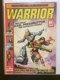Warrior #1 First Printing 1982 Magazine Comic Book