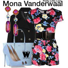 Inspired by Janeel Parrish as Mona Vanderwaal on Pretty Little Liars.
