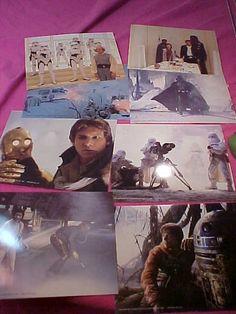 Vintage 8 Star Wars Empire Strikes Back 8x10 clr Photos by MAYSVTG, $14.95