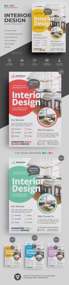 32 Ideas Design Flyer Layout Ideas For 2019 Design Café, Design Logo, Identity Design, Brochure Design, Layout Design, Graphic Design, Design Ideas, Photoshop, What Is Fashion Designing