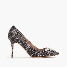 Crew for the Collection Elsie jeweled feather-print pumps for Women. Find the best selection of Women Jewelry available in-stores and online. High Heel Pumps, Pumps Heels, Pool Fashion, Evening Shoes, Feather Print, Party Shoes, Cloth Bags, Me Too Shoes, Women's Shoes
