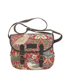 Barbour Morris Print Reiver Bag Strawberry Thief Design LBA0137RE71