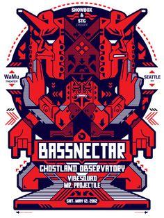 Bassnectar's grungy experimental dubstep style !