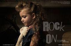 Rock On  #party #fashion #editorial #babiekins #magazine