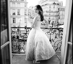 """Natalie Portman for """"Miss Dior Blooming Bouquet"""" Fragrance"""