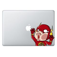 SIZE The TRAPPED SERIES Macbook/Laptop Decals are 5 inches (12.7 cm) wide and the length depends on the character. Please check the SAMPLE IMAGE below for an id