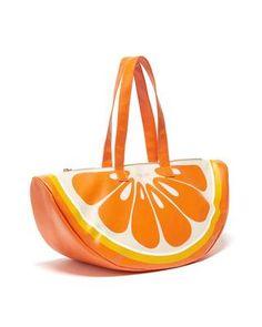 Super Chill Cooler Bag - Orange by ban.do - cooler bag - ban. Orange Bag, Orange Juice, Reusable Shopping Bags, Cute Purses, Stylish Jewelry, Stylish Kids, Laptop Bag, School Bags, Fashion Bags