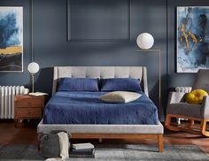 Tuscan style – Mediterranean Home Decor Queen Size Bedding, Bedding Sets, Blue Bedroom, Bedroom Decor, Master Bedroom, Bedroom Suites, Green Bedding, Leather Bed, Sleeper Sofa