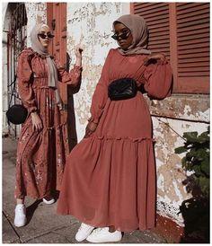 Hijab Fashion Summer, Modest Fashion Hijab, Modern Hijab Fashion, Street Hijab Fashion, Muslim Women Fashion, Modesty Fashion, Hijab Fashion Inspiration, Islamic Fashion, Mode Inspiration
